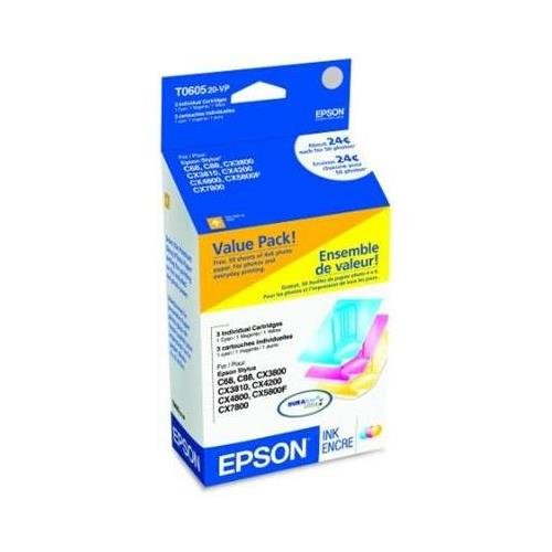 EPST060520 - Epson Multi-Pack Ink Cartridges (T060520 Pack Multi)