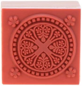 Holiday Ornament Snowflake Rubber Stamp for Stamping Crafting Planners