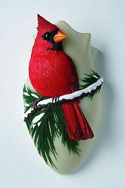 - Cardinal Wall Vase
