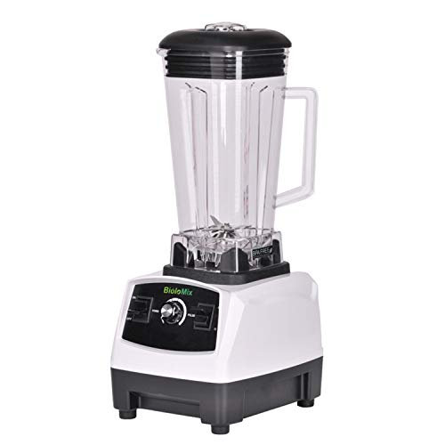 2200W 3Hp 2L G5200 High Power Ial Home Professional Smoothies Power Blender Food Mixer Juicer Fruit Processor,White,Uk Plug ()
