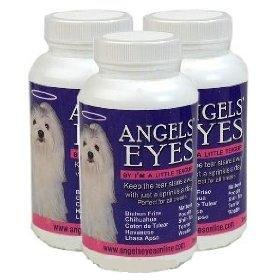 3 PACK of 120 grams Angels Eyes Beef Flavor for Dogs (360 grams total), My Pet Supplies