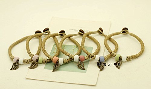 115 literary Sen Deparent Ceramic jewelry bracelet plain leaves Hot fashion ceramic jewelry manufacturers wholesale