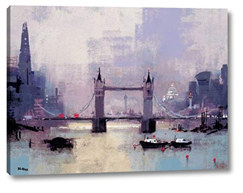 - St Pauls and Tower Bridge by Colin Ruffell - 21