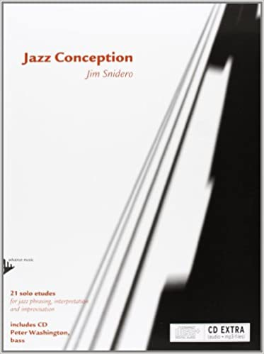 Jazz Conception -- Bass: 21 Solo Etudes for Jazz Phrasing, Interpretation, and Improvisation (English/French/German Language Edition) (Book & MP3 CD)