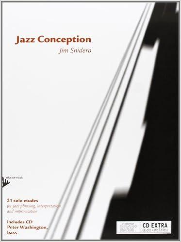 Jazz Conception -- Bass: 21 Solo Etudes for Jazz Phrasing