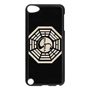lost tv show dharma iPod Touch 5 Case Black Customized Gift pxr006_5271842