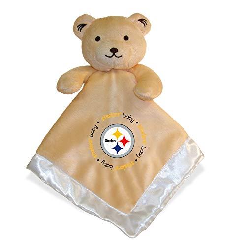 - Security Bear | Cute Newborn Baby Boys Girls Plush Blanket and Animal Security Blanket Set | Pittsburgh Steelers