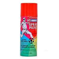 Abro Colour Spray Paint (400ml, Orange Red)