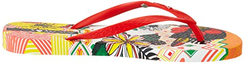 Ipanema I Love Tribal Fem, Chanclas para Mujer Mehrfarbig (white/red)