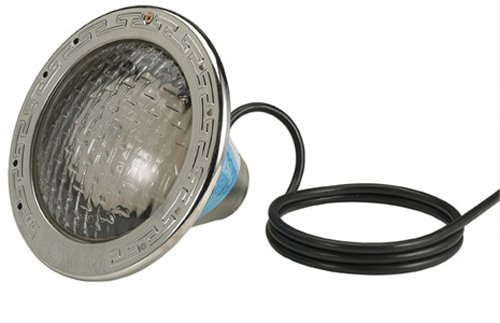 (Pentair 78453102 Amerlite Underwater Incandescent Pool Light with Stainless Steel Face Ring, 120 Volt, 30 Foot Cord, 500 Watt - CSA Listed (Canadian))