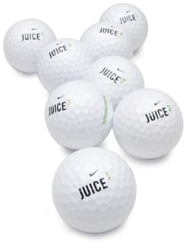 Nike Juice Recycled Golf Balls (36 Pack Assorted) Athletics, Exercise, Workout, Sport, Fitness by Athletics & Exercise