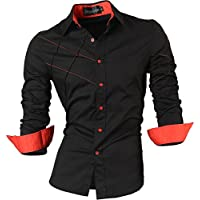 jeansian Men's Casual Fashion Shirts