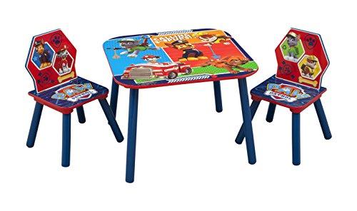 Delta Children Patrulla Canina – Juego de mesa y sillas, unisex