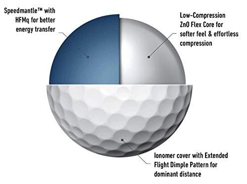 TaylorMade Unisex's TM20 Soft Response dzn Golf Ball, White, 12
