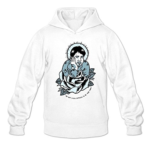 Tommery Men's Kevin Smith Logo Long Sleeve Sweatshirts Hoodie