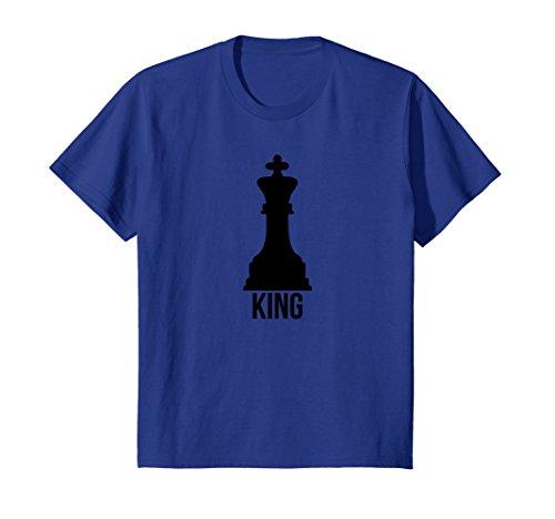 Kids King Pawn Funny Chess Family Couple Group Costume Tee Shirt 10 Royal (Boy Girl Couple Costumes)