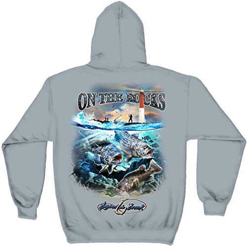 topwater Lures | Striped Bass Sea Bass Black Fish Hooded Sweat BTB2373SWL