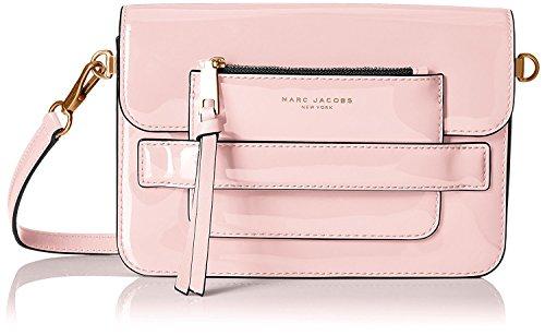 Marc Jacobs Medium Patent Madison Shoulder Bag, Rose Smoke