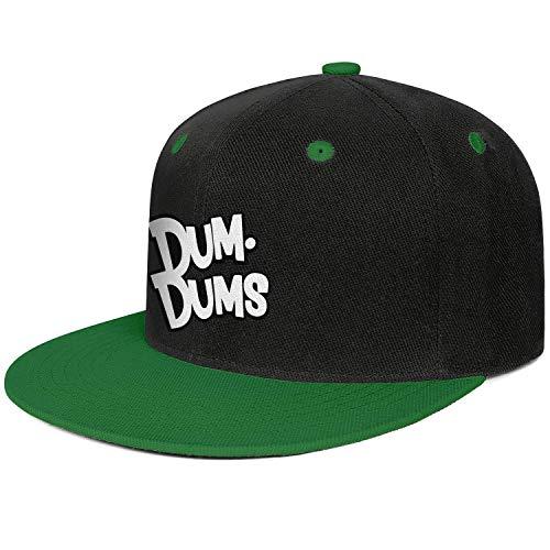 AINIJIAJ Men/Women Print Casual Candy Stylish Hat Flat Brim Snapback Cap -
