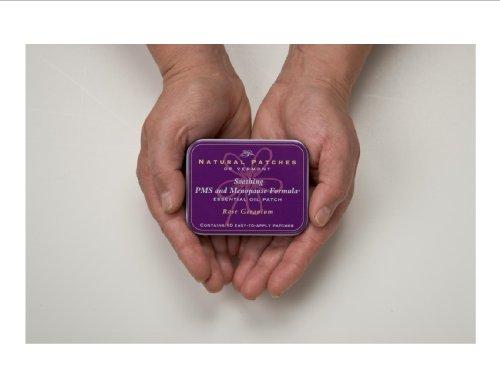 Naturopatch Of Vermont Rose Géranium De PMS Relief & Patchs corps Ménopause, 10-Count Boîtes
