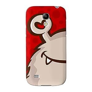 Cute Little Monster-On Rojo Full Wrap 3d de alta calidad Printed Case, funda carcasa para Samsung Galaxy S4Mini de UltraCases