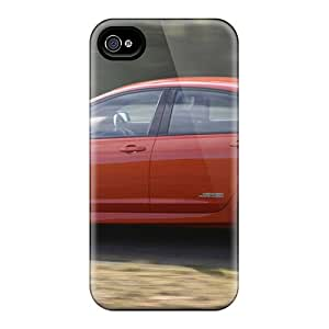 Premium Durable Commodore Holden Red Sports Holden Commodore Fashion Tpu Iphone 4/4s Protective Case Cover