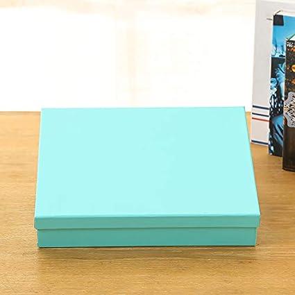 Caja de regalo rectangular caja vacía Medio 30 x 23 x 6 cm Táctil ...