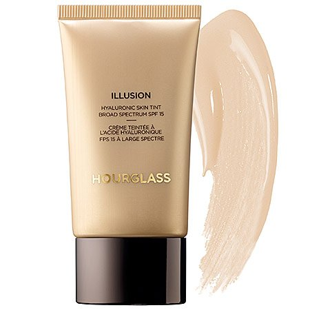 Hourglass Illusion Hyaluronic Skin Tint 1.0 oz # COLOR Ivory - light medium, cool undertone