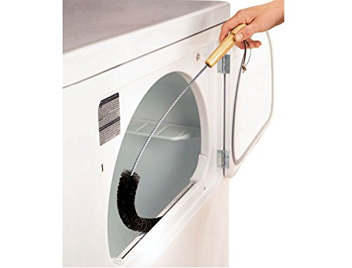 Clothes Dryer Lint Vent Trap Cleaner Brush Gas Electric Fire Prevention Exhaust ()