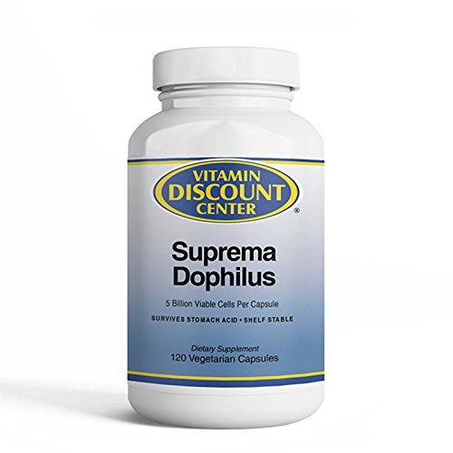 Vitamin Discount Center Suprema Dophilus Probiotic Blend, 120 Capsules