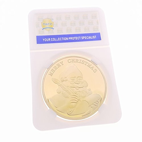 New TACC Commemorative Coin Collection St.Klaus Holiday Merry Christmas