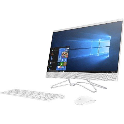 HP 24-Inch All-in-One Computer, Intel Core i5-8250U, 12GB RAM, 1TB Hard Drive, Windows 10 (24-f0060, White) (Screen Monitor Touch Hp)