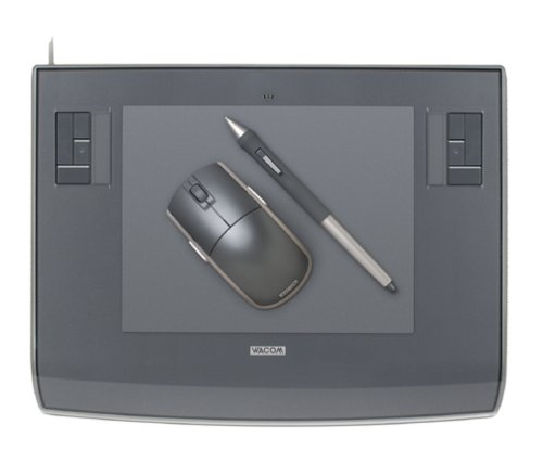 Wacom Blue Pen - Wacom Intuos3 6 x 8-Inch Pen Tablet