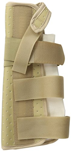 Medline Vinyl Wrist and Forearm Splint, Left, Small