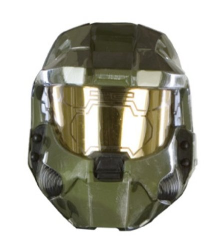 Halo 3 Master Chief Deluxe Two-Piece Mask]()