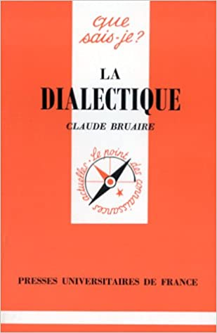 Livres La Dialectique pdf, epub ebook