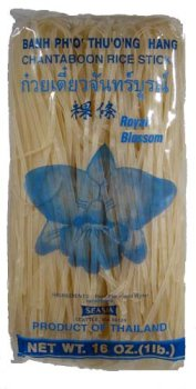 Royal Blossom - Chantaboon Rice Stick (3MM) 16 Oz.