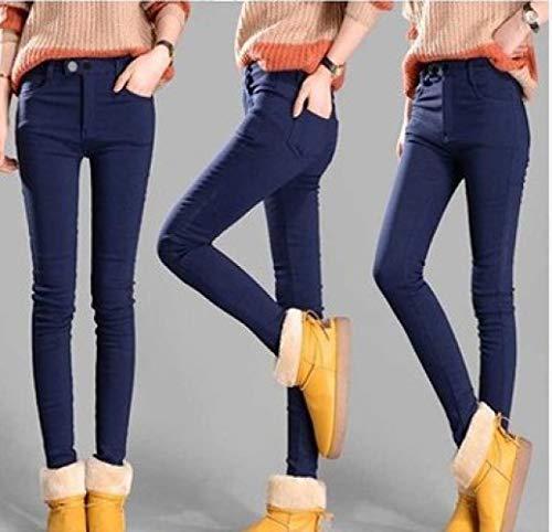 Cto Qu'un Femmes Pantalon Portent Jambières Pantalons Velours Ainsi Crayon Polyvalents C Étudiants Des D'hiver En Les Épais xIUrPSqFwx