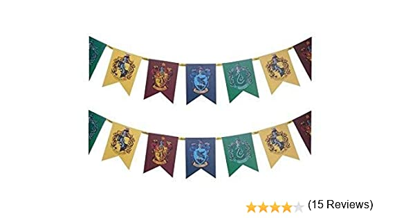 Oficial Harry Potter Hogwarts Pared Pancarta Bandera Accesorio ...