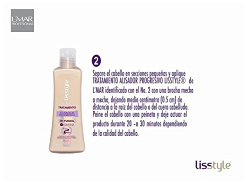 Amazon.com : Lmar Lisstyle Progresive Straightening treatment Blowout KIT No Formol with Carbocysteine No Smell, No Itching | Alisado Permanente Sin Formol ...