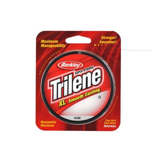 Berkley Trilene XL Filler 0.015-Inch Diameter Fishing Line, 17-Pound Test, 330-Yard Spool, Fluorescent Blue and Clear (Packaging may vary) (Best 4 Pound Test Line)