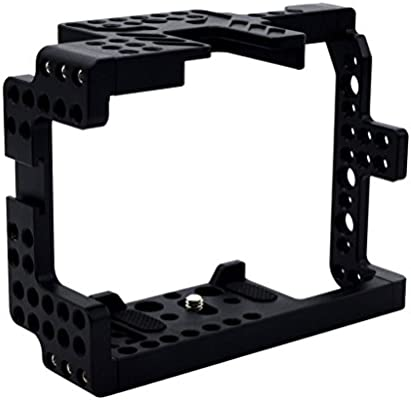 gazechimp Aluminum Alloy Camera Video Cage for Sony A7 A7R