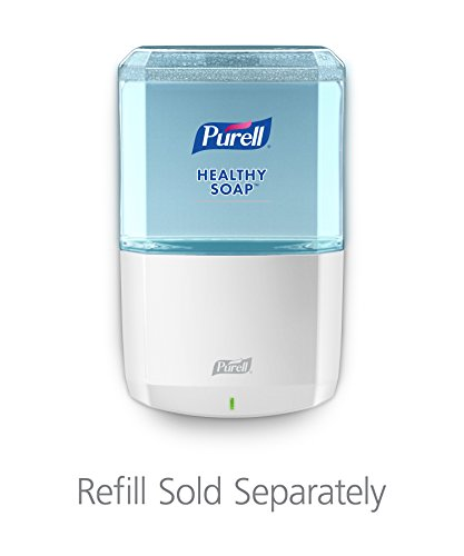 (PURELL ES8 HEALTHY SOAP Touch-Free Dispenser, White, Dispenser for PURELL ES8 1200 mL Hand Soap Refills - 7730-01)