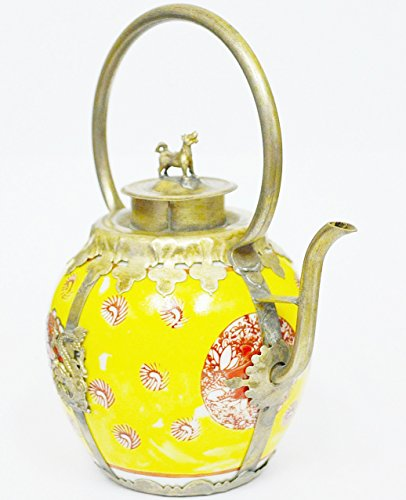- Home Decore Beautiful & Classic Chinese tibet Porcelain Dragon TeaPot