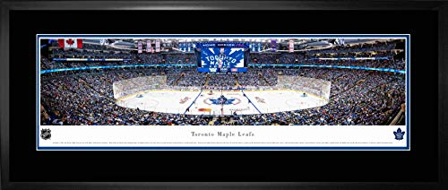 Toronto Maple Leafs Framed Panorama Scotiabank Arena 1st Game 2018