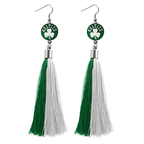 NBA Boston Celtics Tassel Earrings