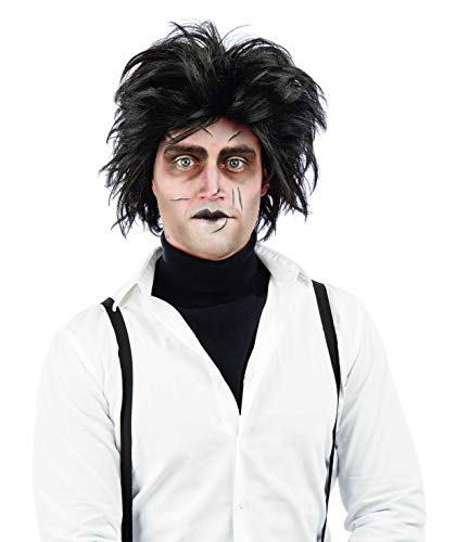 fun shack Men's, Gothic Scissor Wig One Size