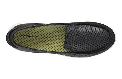 Sapin Superfeet Femmes Noires De Chaussures De Confort Décontracté