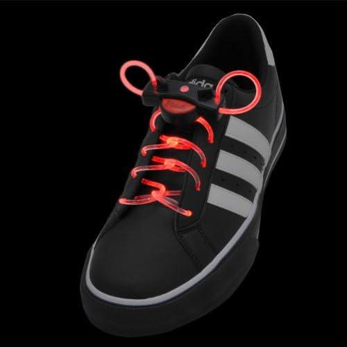 【光る靴ひも】フラッシュ ストリング(レッド)