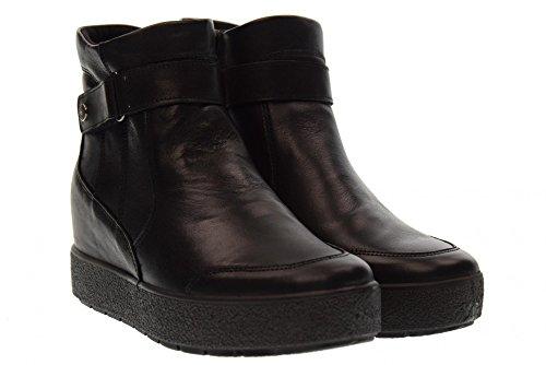 ENVAL SOFT Damenschuhe innen Keilstiefel 89970/00 Black